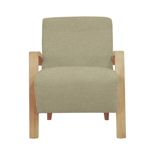 Luna bézs fotel világos lábakkal - Windsor & Co Sofas