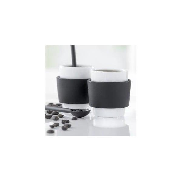 Milano 2 db-os kávéscsésze készlet, 100 ml - Steel Function