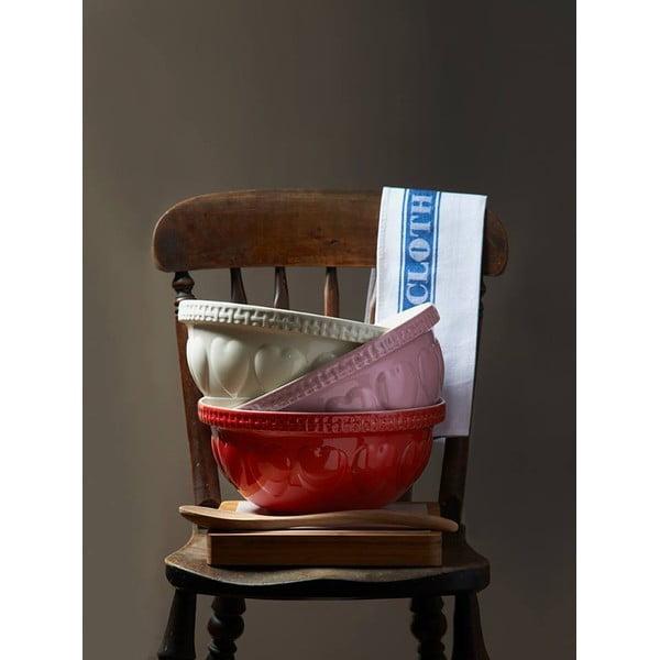 Heart piros agyagkerámia tál, ⌀ 29 cm - Mason Cash