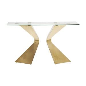 Gloria konzolasztal aranyszínű lábakkal - Kare Design