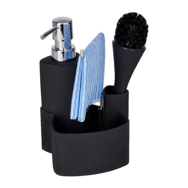 Empire fekete mosogatókészlet, 250 ml - Wenko