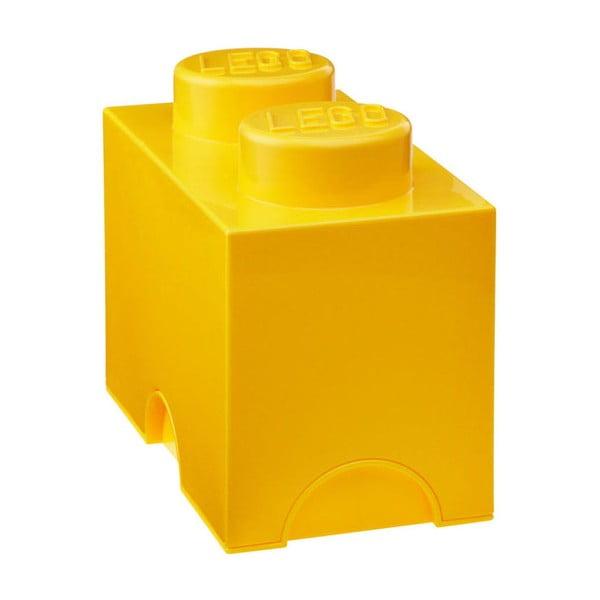 Sárga dupla tárolódoboz - LEGO®