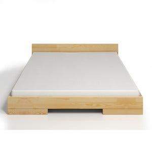 Spectrum kétszemélyes ágy borovi fenyőből, 180 x 200 cm - Skandica