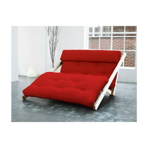 Figo Raw/Red fekvőfotel, 120 cm - Karup