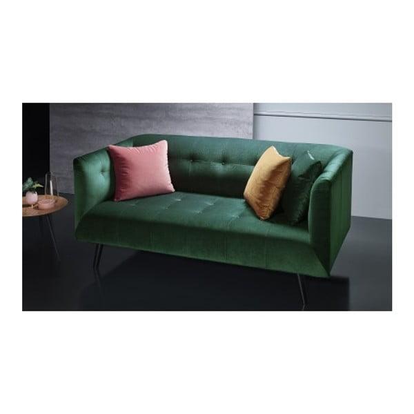 Paris zöld háromszemélyes kanapé - Bobochic Paris