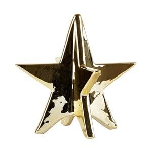 Ceramic Gold dekorációs kerámia csillag, 13 cm - Villa Collection