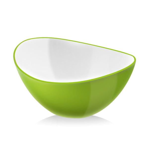 Zöld salátás tál, 25 cm - Vialli Design