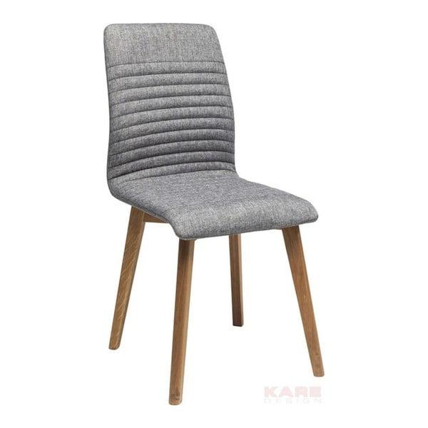 Lara szürke étkezőszék - Kare Design