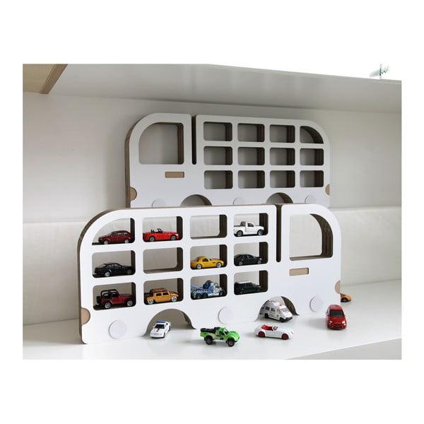 Balra néző autóformájú polc - Unlimited Design for kids