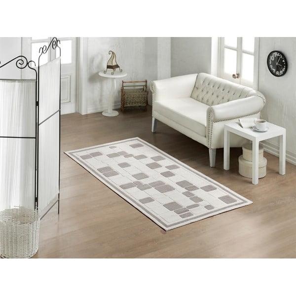 Cream Tiles szőnyeg, 80 x 150 cm