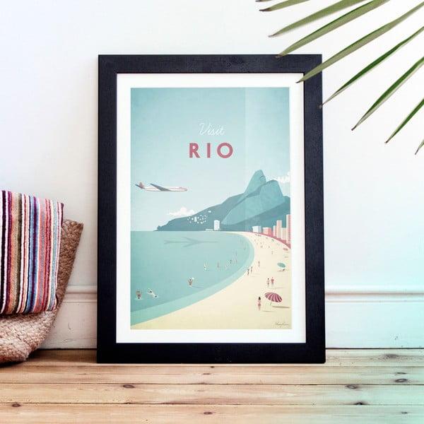 Rio plakát, A3 - Travelposter