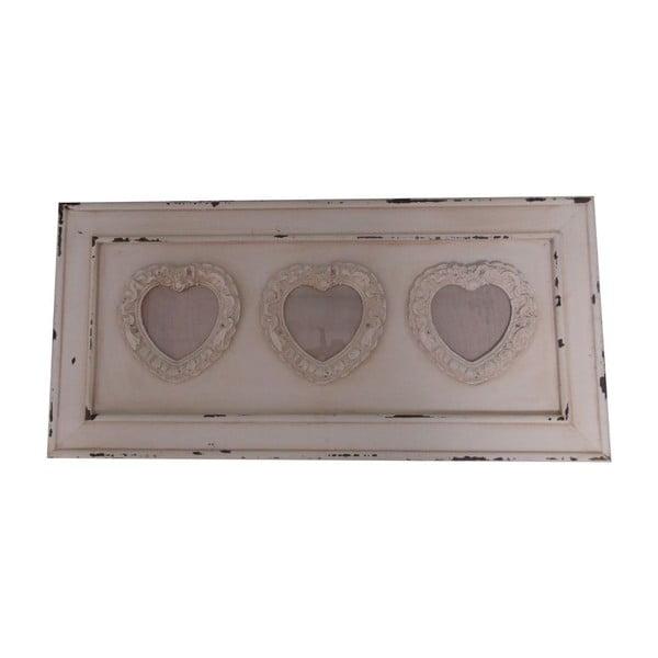 Three Vintage Hearts képkeret - Antic Line