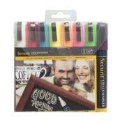 Liquid Chalkmarker Medium Colored folyékony kréta szett, 8 db - Securit®