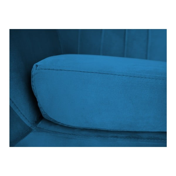 Benito kék fotel - Mazzini Sofas