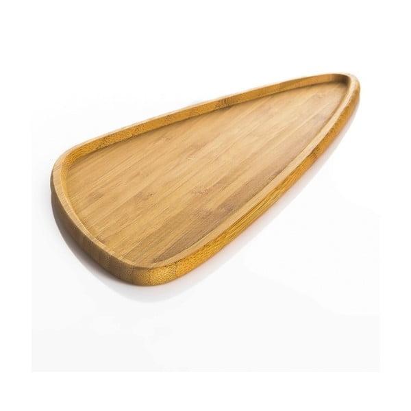 Viego Triangle L szervírozó bambusztányér - Bambum