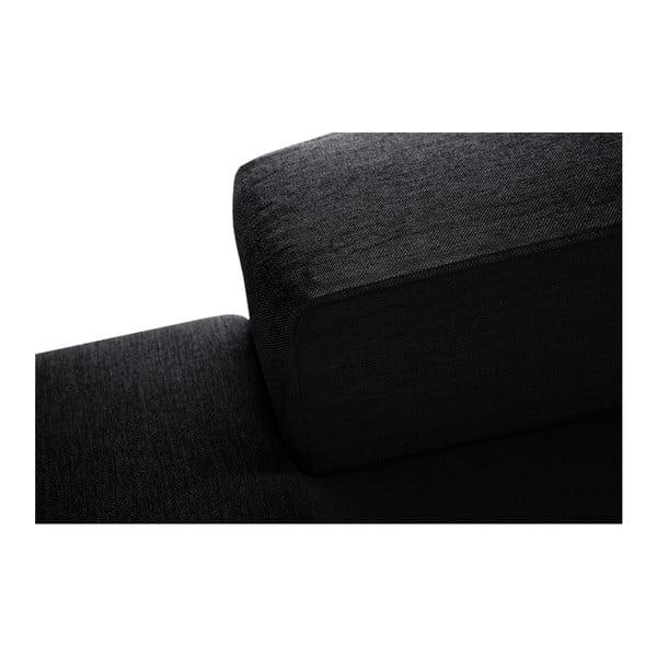 Perle fekete kanapé, bal oldalas - Interieur De Famille Paris