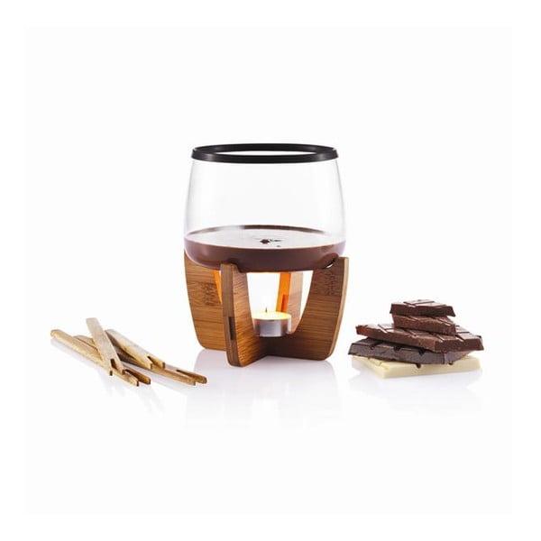 Csokoládé fondue készlet, 1 l - XD Design
