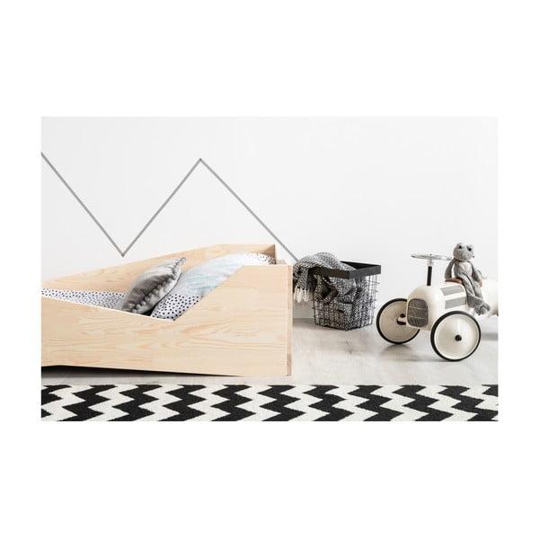 BOX 5 gyerekágy borovi fenyőfából, 80 x 160 cm - Adeko