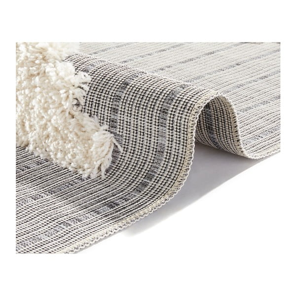 Handira Triangles szürke szőnyeg, 290 x 194cm - Mint Rugs