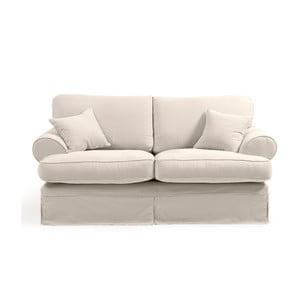 Hermine krémszínű kétszemélyes kanapé - Max Winzer