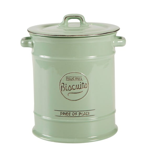 Pride of Place zöld kerámia keksztartó - T&G Woodware