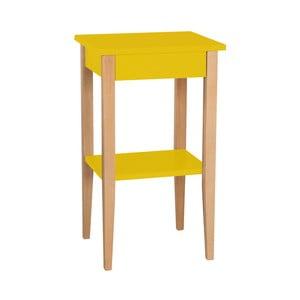 Žlutý odkládací stolek Ragaba Entlik