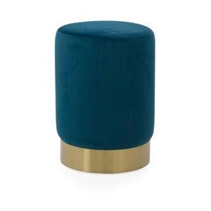 Modrý puf Tenzo Hanna, ø33cm