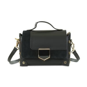 Černá kožená kabelka Infinitif Chelsea