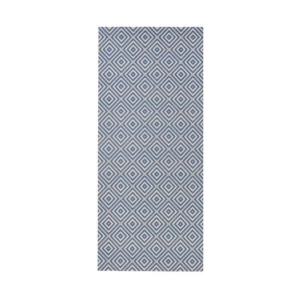 Karo kék kültéri szőnyeg, 80 x 150 m - Bougari