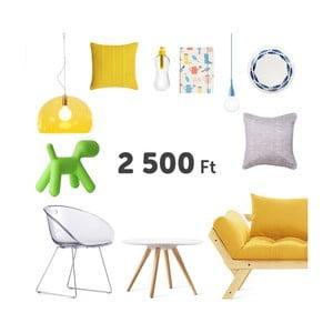 Virtuális ajándékutalvány 2500 Ft értékben