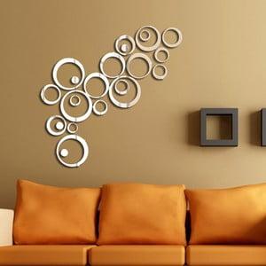 Rings tükör hatású öntapadós matrica - Ambiance