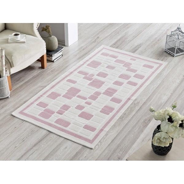 Pink Tiles szőnyeg, 100 x 150 cm