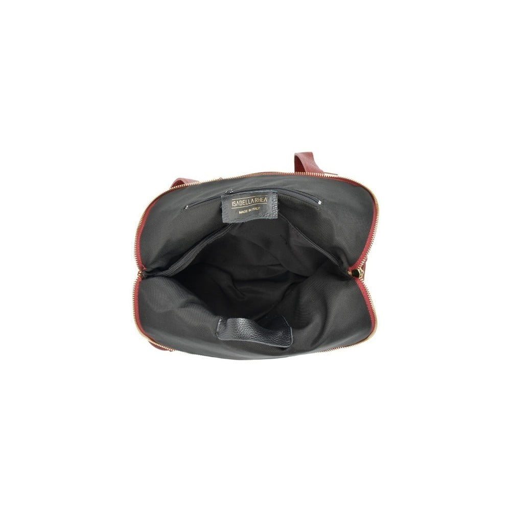 ... Gunna Rosso piros bőr női hátizsák - Isabella Rhea ... 5497597604