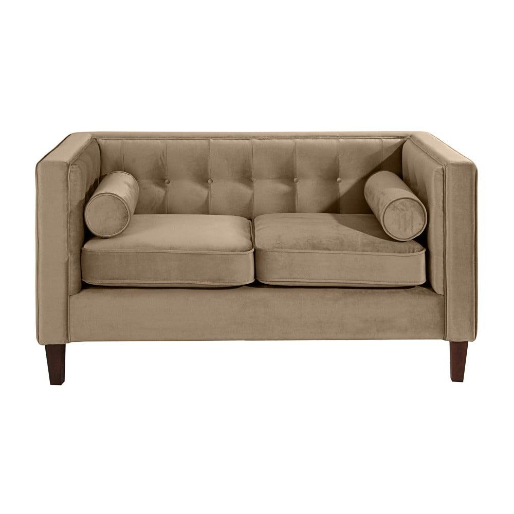 c799ab5f96 Jeronimo kétszemélyes világos bézs színű kanapé - Max Winzer | Bonami