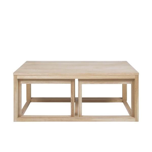 Cornus dohányzóasztal tölgyfa lábszerkezettel - Actona