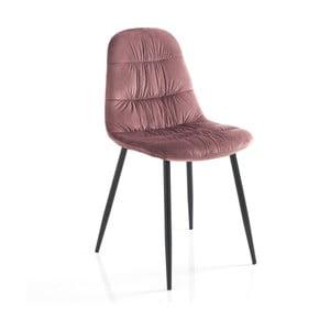 Sada 4 růžových jídelních židlí Tomasucci Fluffy