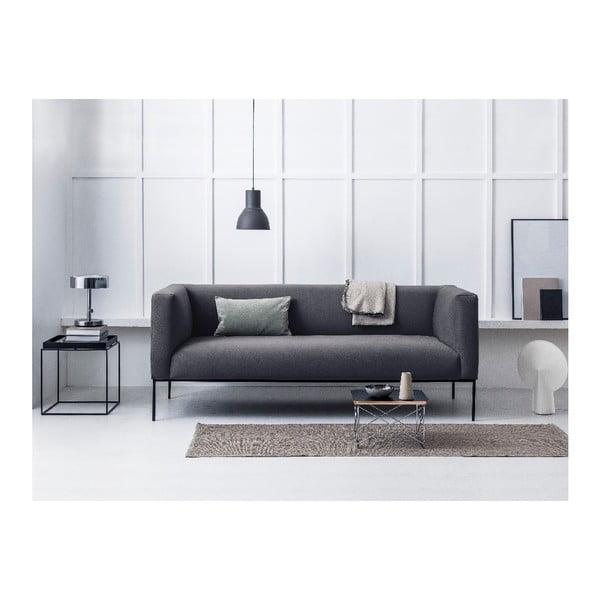Neptune sötétszürke háromszemélyes kanapé - Windsor & Co Sofas