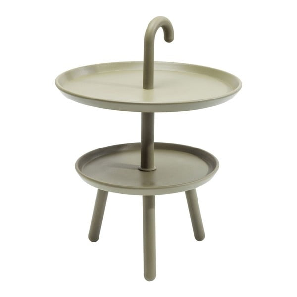Jacky zöld tárolóasztal, ⌀ 42 cm - Kare Design