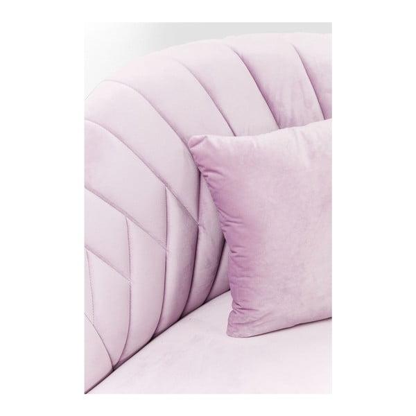 Cabaret rózsaszín kétszemélyes kanapé - Kare Design