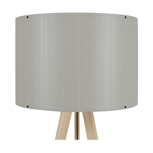 Aiden állólámpa világosszürke lámpabúrával