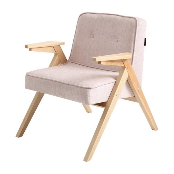 Vinc világos rózsaszín fotel - Custom Form