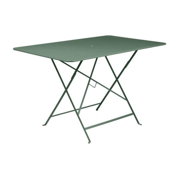 Bistro sötétzöld összecsukható kerti asztal, 117 x 77 cm - Fermob