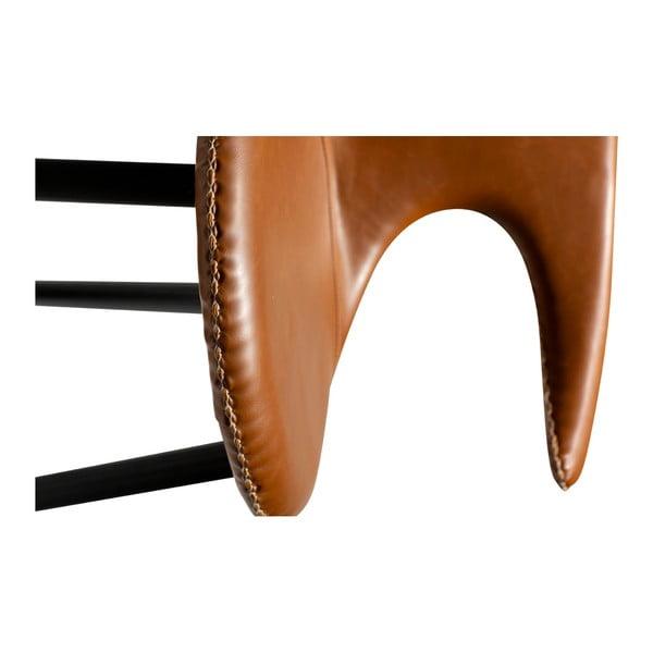 Flair konyakbarna bárszék öko bőrből - DAN–FORM Denmark