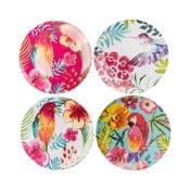 Color 4 db -os műanyag tányér szett - Navigate