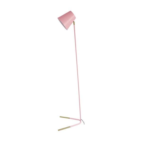 Noble rózsaszín állólámpa aranyszínű részletekkel - Leitmotiv
