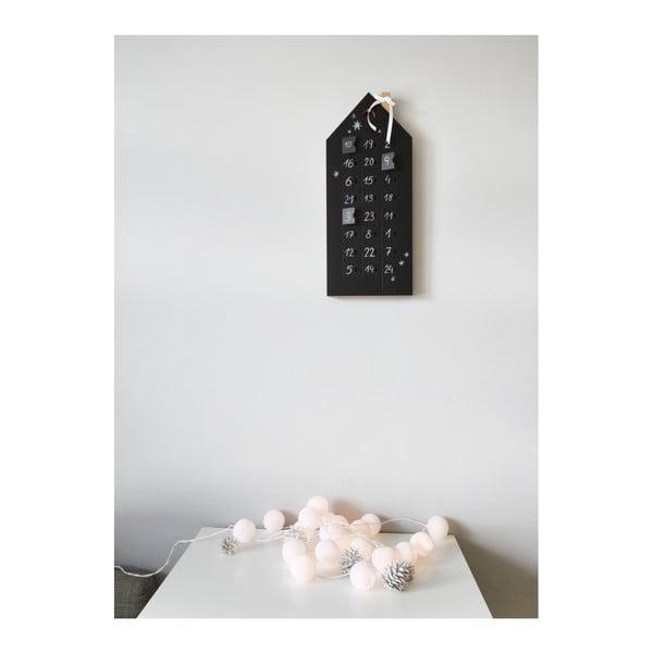 Adventi naptár tábla felülettel - Unlimited Design for kids