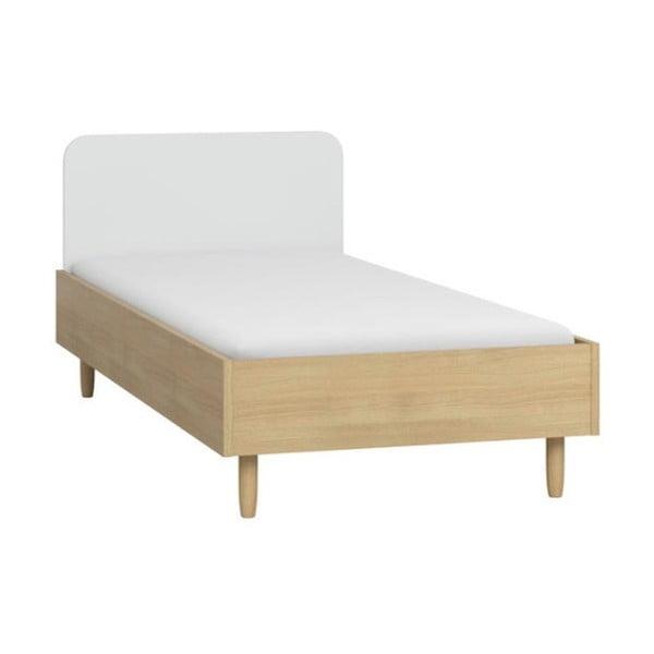 Boca ágy borovi fenyőfa lábakkal, 90 x 200 cm - Vox