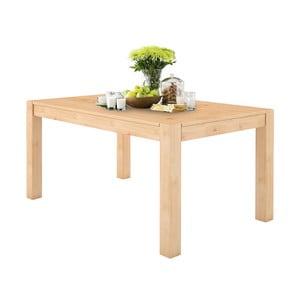 Monique tömör fenyőfa étkezőasztal, 76 x 140 cm - Støraa