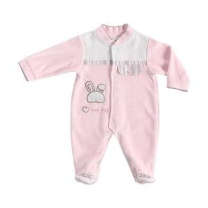 Rabbit rózsaszín babapizsama, újszülötteknek - Naf Naf