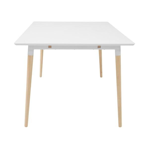 Olivia étkezőasztal tölgyfa lábszerkezettel, 200x100cm - Actona
